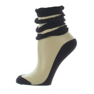 NWT Free People Sheer Ruffle Socks Sz 9-11